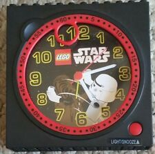 Lego Star Wars Alarm Clock With Chewbacca And Stormtrooper