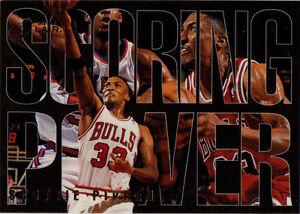 1994-95 Flair Scoring Drive #8 Scottie Pippen SP Chicago Bulls