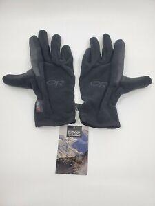 Outdoor US Research Gripper Gloves Polar Tech Size Medium Black