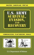 U.S. Army Survival, Evasion, and Recovery SURVIVAL BOOK  Hurricane New