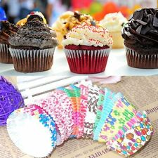 100pcs Chocolate Liners Cases Party Cup Muffin Baking Paper Cupcake Cake