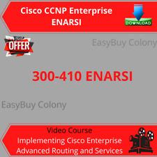Cisco CCNP Enterprise ENARSI 300-410 Video Training Course