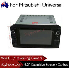"6.2"" Car DVD Player GPS  Stereo Head Unit Navigation For Mitsubishi Universal"