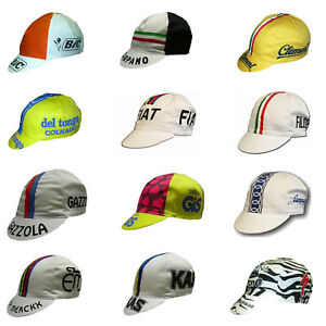 Outdoor Vintage Cycling Team design - Anti Sweat Specialized Cotton Bicycle Caps