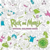 Rick and Morty Official Coloring Book (Colouring Books) Pre-Order 9781785655623