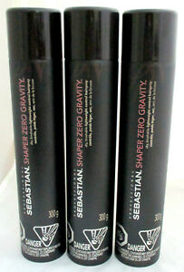 Sebastian Shaper Zero Gravity Hairspray  10.6 oz PACK OF 3