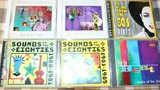 80s CD Lot Time Life Sounds Of The Eighties It Came From The 80s Part 2 New Wave
