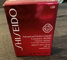Shiseido Advanced Hydro Liquid Compact Refill I20 Natural Light Ivory Spf15 Nib