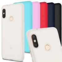 Pianura TPU Cover per Xiaomi Mi A2 Lite (Redmi 6 Pro) Leggera Silicone Cellulare