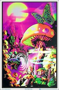 Magic Valley Blacklight Poster 23 x 35