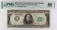 1934-A $500 Federal Reserve Note, SN G00160990A - PMG XF 40, Fr-2202-G