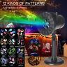 12Patterns LED Fairy Laser Projector Light Landscape Outdoor Garden Xmas Party