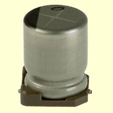 10 pcs. UWX1H100MCL1GB  Nichicon SMD Kondensator 10uF 50V 6,3x5,4mm 2000h 85°C