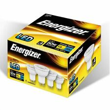 Energizer GU10 LED Light Bulbs 5.2W 3000K Warm White Pack Of 4 Dimmabe Spotlight