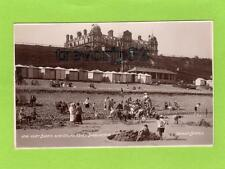 West Beach Grand Hotel Sheringham RP pc used 1920's Donlion Ref C55