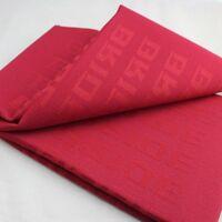 1mx1.6m Full RED Bride Fabric Racing Seats Decoration Material Interior JDM