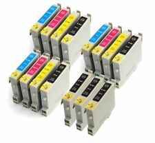 15 Cartucho de tinta XL para Epson Stylus C64 C65 C66 C84 C85 C86 T0441 NonOem
