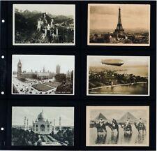 Lighthouse Maximum Wide 6 Pocket Album Pages Modern Postcards 5 Black Quality