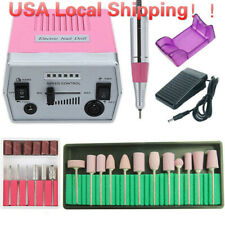 Pro 35000Rpm Electric Nail Drill Machine Set Pedicure Manicure Nail Drill File