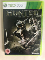 Hunted The Demon's Forge Xbox 360 Action Video Game Manual PAL
