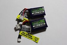2 Nano Tech 180Mah 7.4V 2S 25C-50C LiPo Battery LOSI MICRO T DT BAJA 1/36 1/24