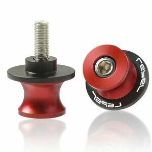 Motor Swingarm Spools Slider For HONDA Rebel CMX250 C CA250 CMX300 CMX500