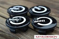 Black MINI Style Wheel caps for 07-13 MINI Cooper S ONE GP JCW Clubman Paceman