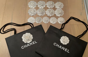Chanel Holiday 2020 Shopping Bags OR Camellia flowers - Pick Your Size And Qty.