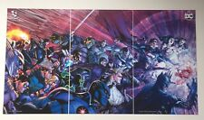 Justice League Trinity War Triptych Print *Loot Crate DX Exclusive* Not In Shops