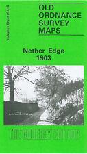 Old Ordnance Survey Map Nether Edge 1903