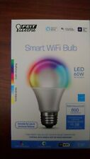 FEIT ELECTRIC 60W Smart Lightbulb Dimmable/Color Change