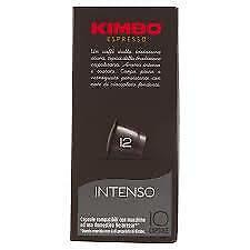 120 CAPSULE CAFFÈ KIMBO intenso   COMPATIBILI NESPRESSO Kimbo Espresso