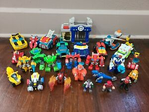Playskool Heroes Transformers Rescue Bots and Figures lot
