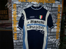 Vintage Cycling Jersey Wool Maglia Ciclismo Bici GS Bianchi Piaggio '70s Eroica
