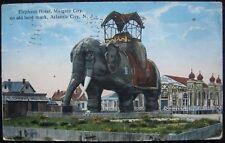 Elephant Hotel Landmark Margate City 1918 Atlantic City, Nj New Jersey Postcard