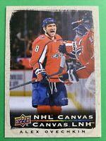 2020-21 Upper Deck Tim Horton's NHL Canvas #C-7 Alex Ovechkin Washington