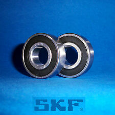 2 Kugellager 6001 2RS / Markenware SKF / 12 x 28 x 8 mm