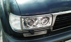 Toyota Land Cruiser 80  Polycarbonate Headlight Covers for retrofit, pair.
