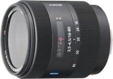SONY standard zoom lens Vario-Sonnar T*DT 16-80 mm F-3.5-4.5 ZA APS-C compatible