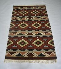 Traditional Romania Rug Colorful Wool Cotton 3x5 Ft Home Decorative DN-1277