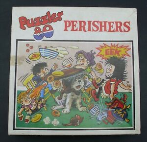 THE PERISHERS 80 PIECE PUZZLER JIGSAW (COMPLETE) 1973