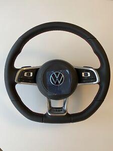 VW POLO Vl 2G GOLF 7 GTI Lenkrad Multifunktion DSG Rot 2G0419091 Mit Airbag