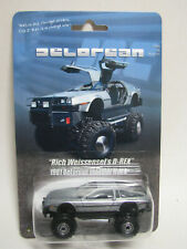 Rich W's D-Rex DeLorean Monster Truck Custom Carded Hot Wheels
