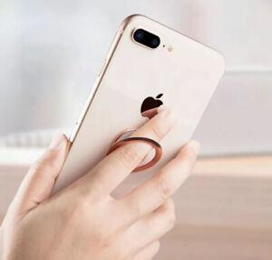 Magnetic Finger Grip Ring Holder/ Stand. Universal: Mobile Phones/Tablet