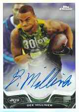2013 Topps Chrome Rookie Autograph Refractor #199 Dee Milliner /150!