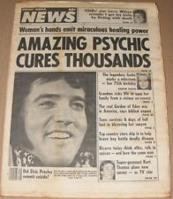 Weekly World News magazine September 16, 1980  Did Elvis Commit Suicide ?