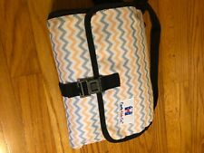 portable diaper changing pad with storage