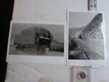 Vintage Photo-2 Photos Sweitzer Album Trains 1910's Allentown PA 1993