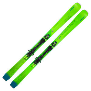 2021 Elan Wingman 86 CTi Skis w/ EMX 12.0 GW Fusion X Bindings      FBAEVU19
