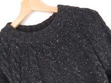 RP1096 Superdry Pullover Sweatshirt Island Kabel Wollmischung Original Größe XL